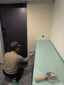 夏休みに向けての、『男の塗り壁』講座!